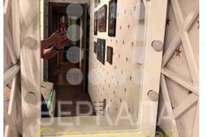 Фото отзыва для гримерного зеркала из массива лиственницы