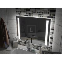 Зеркало с подсветкой для ванной комнаты Мессина 85 см