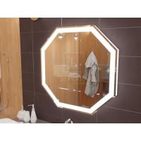 Зеркало с подсветкой для ванной комнаты Тревизо 85 см